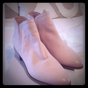 Aldo brand leather new pink booties
